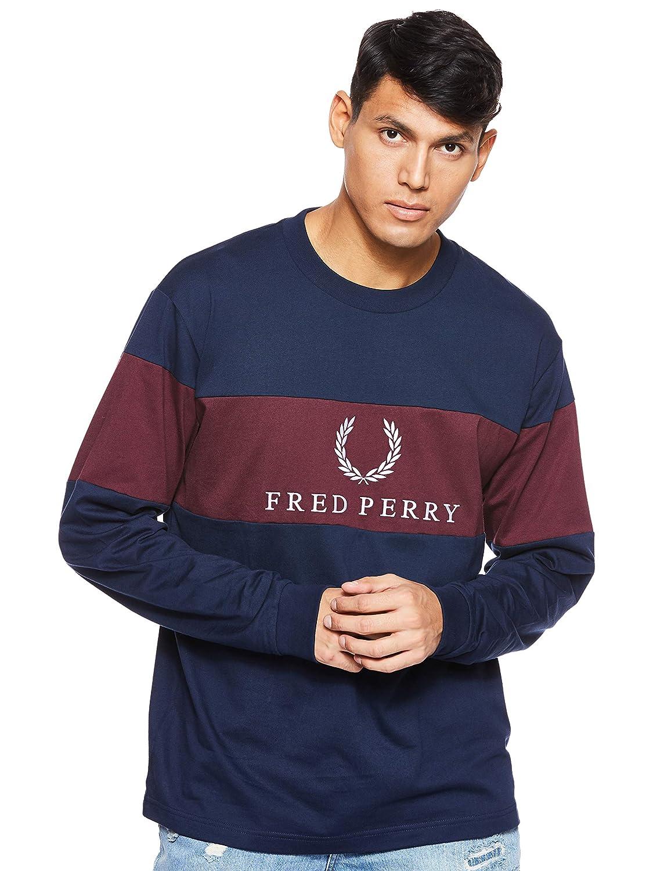 Fred Perry Felpa M5510 A55 M5510: Amazon.es: Ropa y accesorios