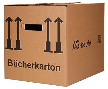 20 Bucherkartons 400 X 330 X 340mm Archivkarton Ordner Umzugs