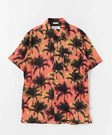 Amboy Shirt 1-4-2-UF05: Peach Palm