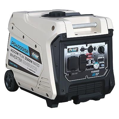 Pulsar 4,000W Portable Gas-Powered Quiet Inverter Generator