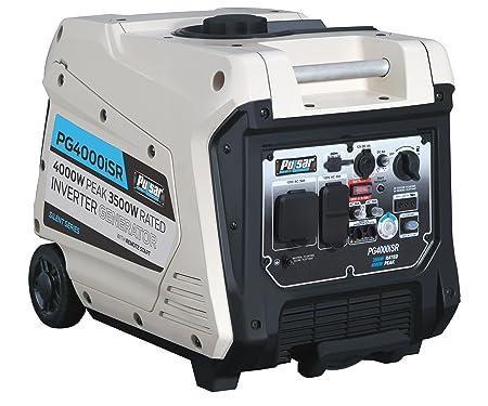 Pulsar 4000W Portable Gas-Powered Quiet Inverter Generator