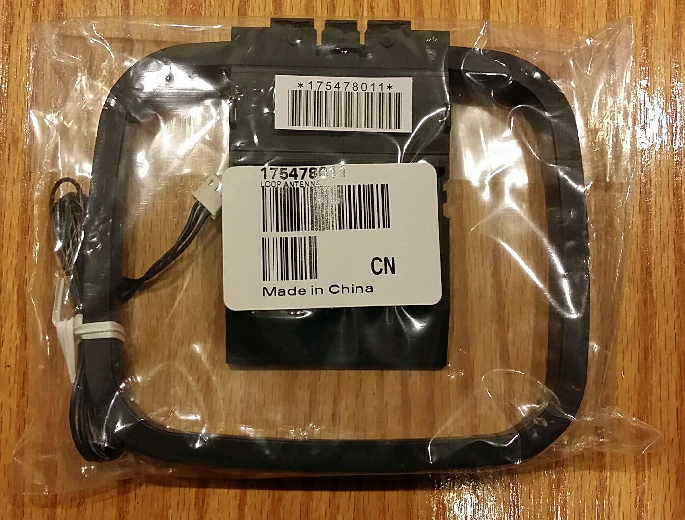 Sony Original Interior Am y FM Antena Loop 3 Pines con 6 1/2 ft Largo FM Antena