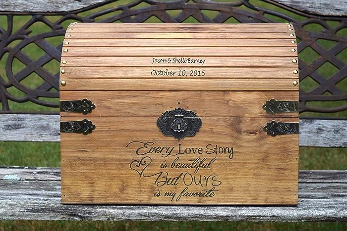Amazon Extra Large Wedding Card Chest Rustic Wooden Card – Large Wedding Card Box