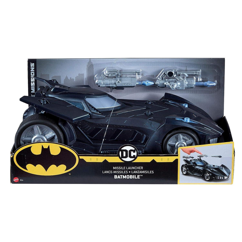 Batman Missions Missile Launcher Batmobile Vehicle Mattel FVM60