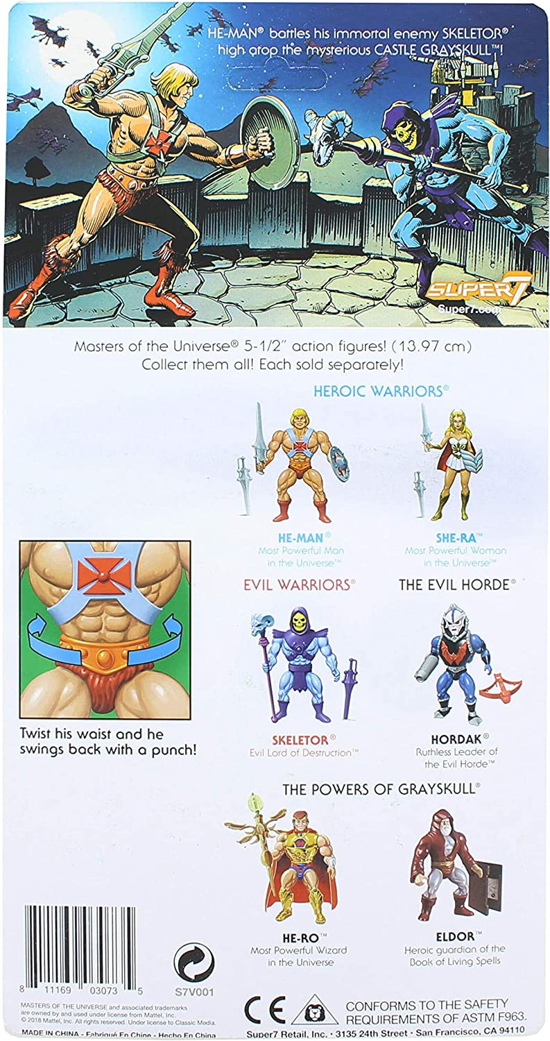 Masters of the Universe FILMATION 2.0 Super 7 SHE-RA NEUF!!!