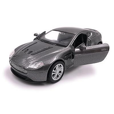 Welly Aston Martin V12 Vantage modèle de voiture auto licence produit 1: 34-1: 39 argent