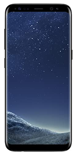 Samsung Galaxy S8 (SM-G950F) 64GB SIM-Free Smartphone - Midnight Black