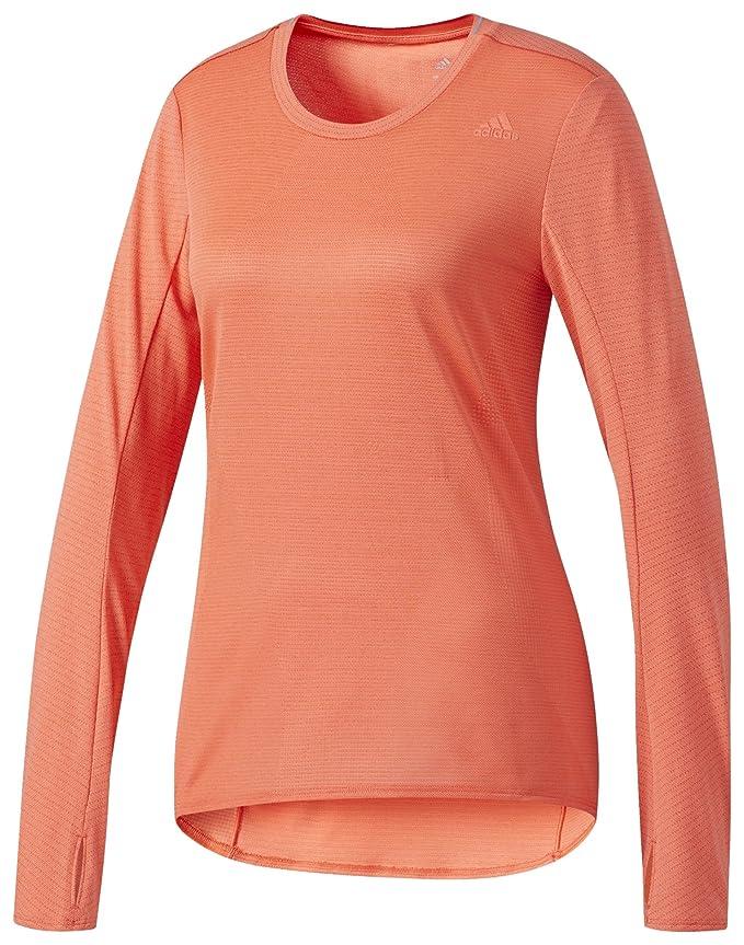 adidas T Shirt Supernova a Maniche Lunghe, Donna: Amazon.it