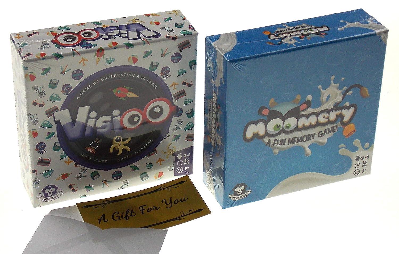 Moomery /& Visioo Card Game Bundle