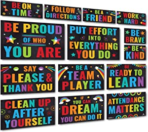 Sproutbrite Classroom Decoration Accents - Bulletin Board and Wall Decor for Pre School, Elementary and Middle School