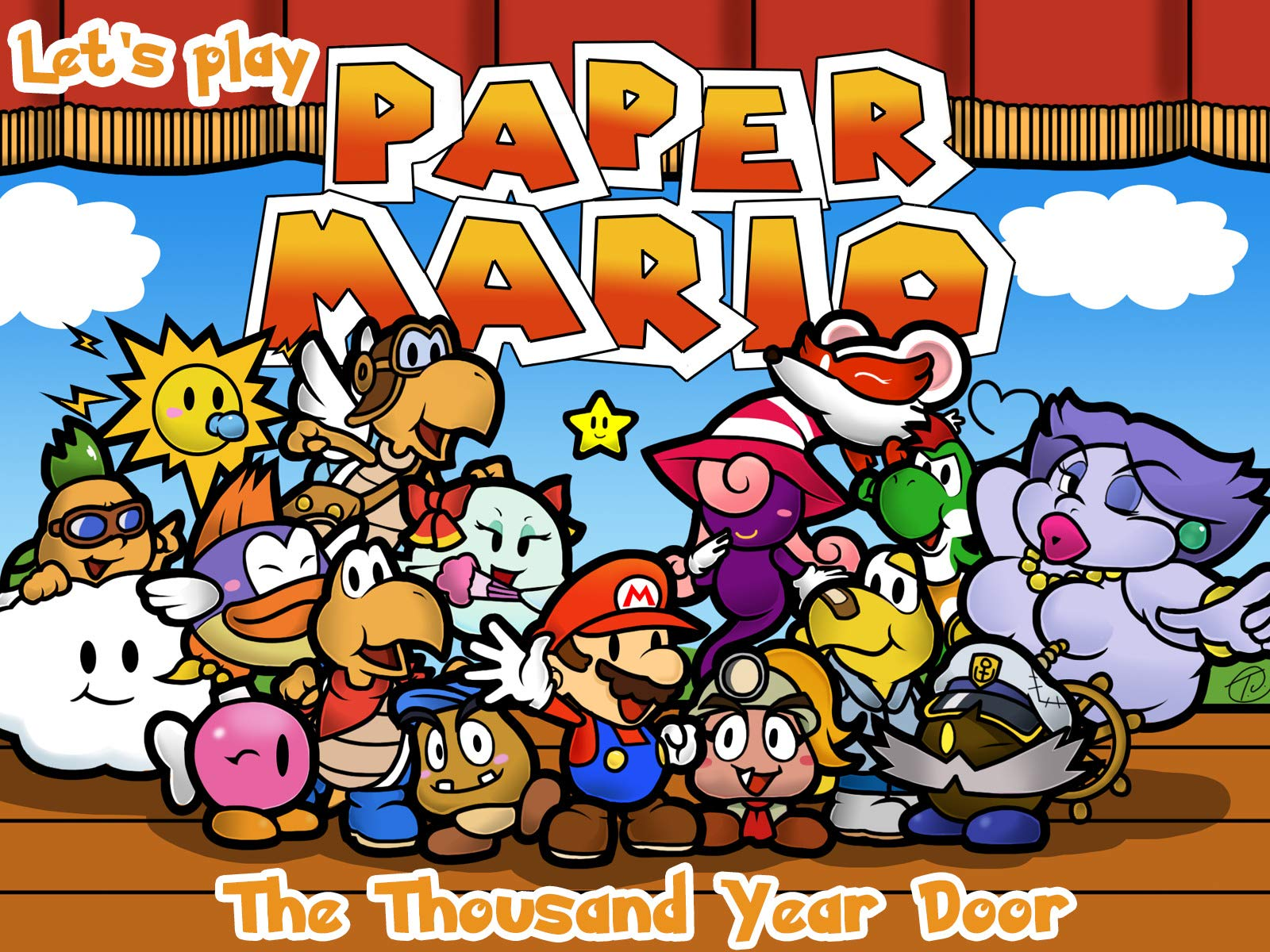 Watch Clip Mario Paper The Thousand Year Door Let S Play
