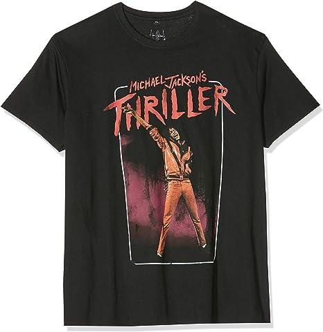Image of MERCHCODE Michael Jackson Thriller Video Camiseta Hombre