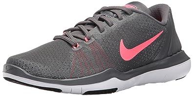 NIKE Women's Flex Supreme TR 5 Cross Training Shoe, Dark Grey, 10 B(