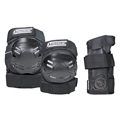 Powerslide Pack 3 protections standard Protections roller homme Noir