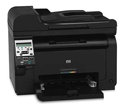 HP Laserjet PRO 100 Color MFP M175NW - Impresora láser (16 ppm, WiFi + Ethernet, USB 2.0), negro