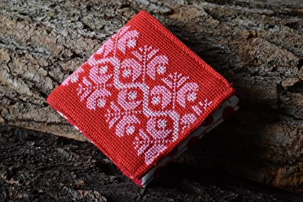Monedero original bordado accesorio de moda artesanal regalo ...