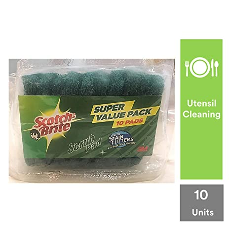 Scotch-Brite Scrub pad Small - Pack of 10