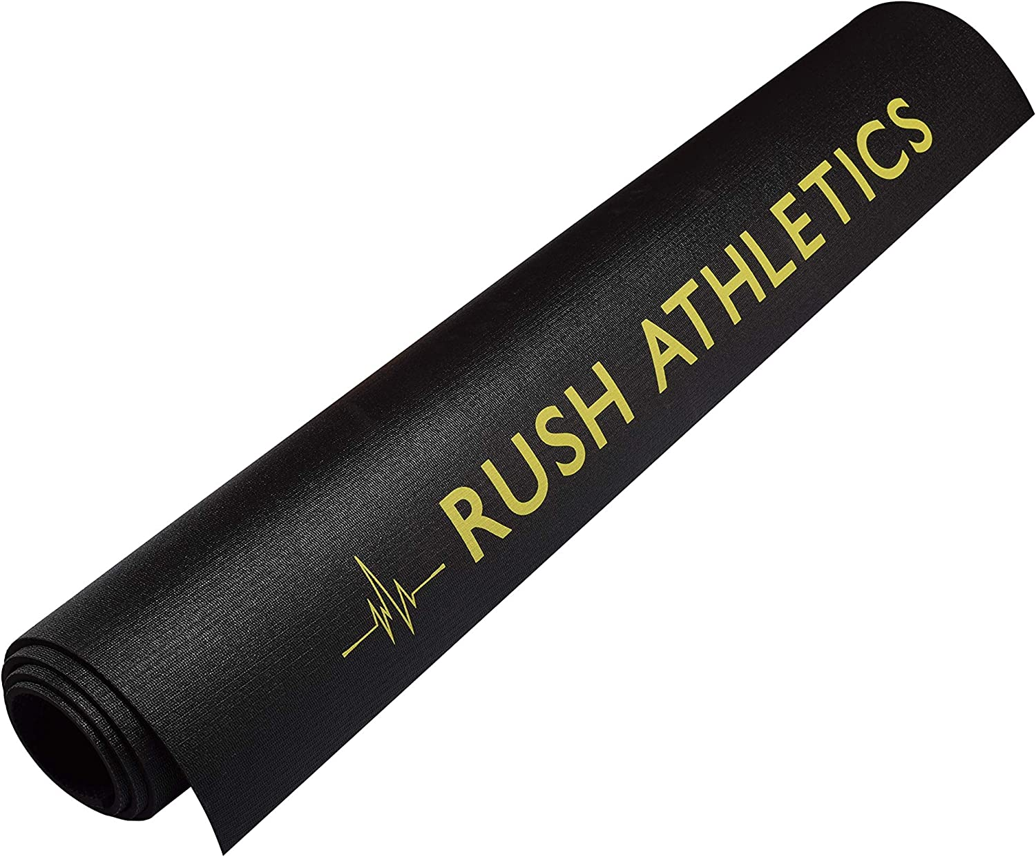 MMA Mats Plyo RUSH ATHLETICS X-Large Premium Jump Rope Fitness Mat 183cm Long x 122cm Wide x 8mm Thick Cardio High Density Non-Slip Workout Mats for Home Gym Flooring 6ft x 4ft 8mm Thick