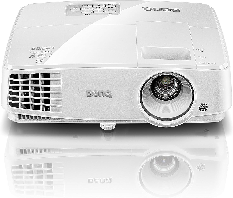 BenQ DLP Video Projector - WXGA Display, 3300 Lumens, 13,000:1 Contrast, HDMI, 3D-Ready Projector (MW526A)