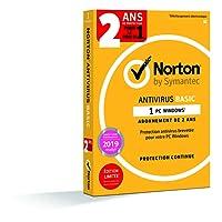 Norton Antivirus Basic 2018 | 1 appareil | 2 ans | PC | Téléchargement