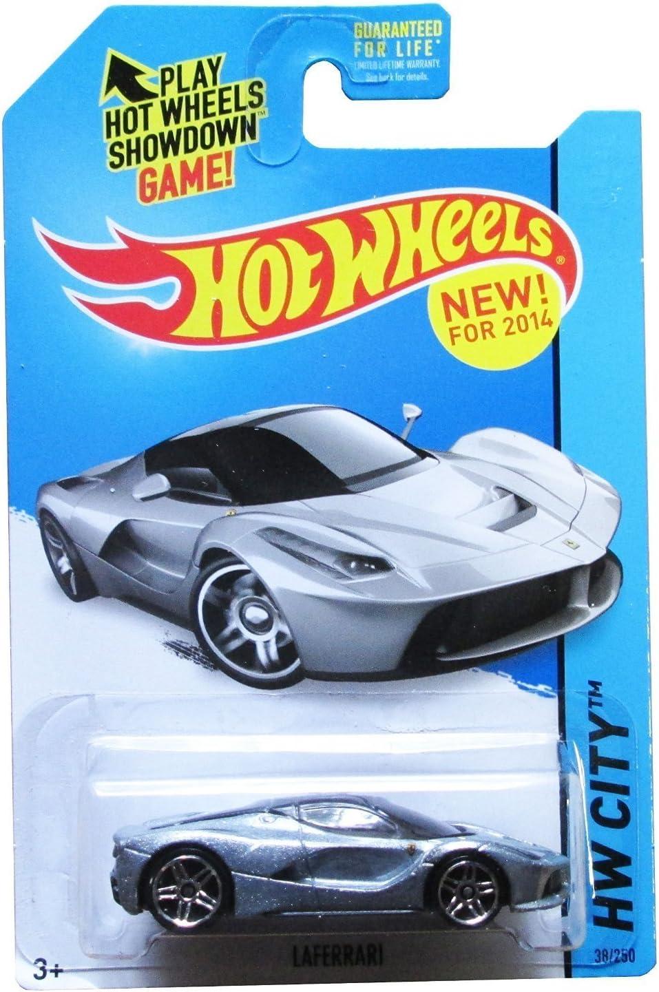 Hot Wheels 2014 Laferrari Silver By Hot Wheels Amazon De Spielzeug
