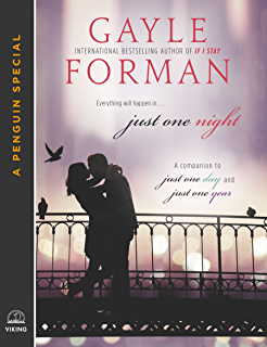 Amazon where she went if i stay book 2 ebook gayle forman just one night fandeluxe Image collections