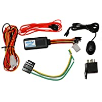Acumen Track UC600(SOS & Panic Button) GPS Device for Truck Bus and Premium Car Anti-Theft Tracking System with 1 Year Free Software (Engine Cut Off, Inbuilt Battery)