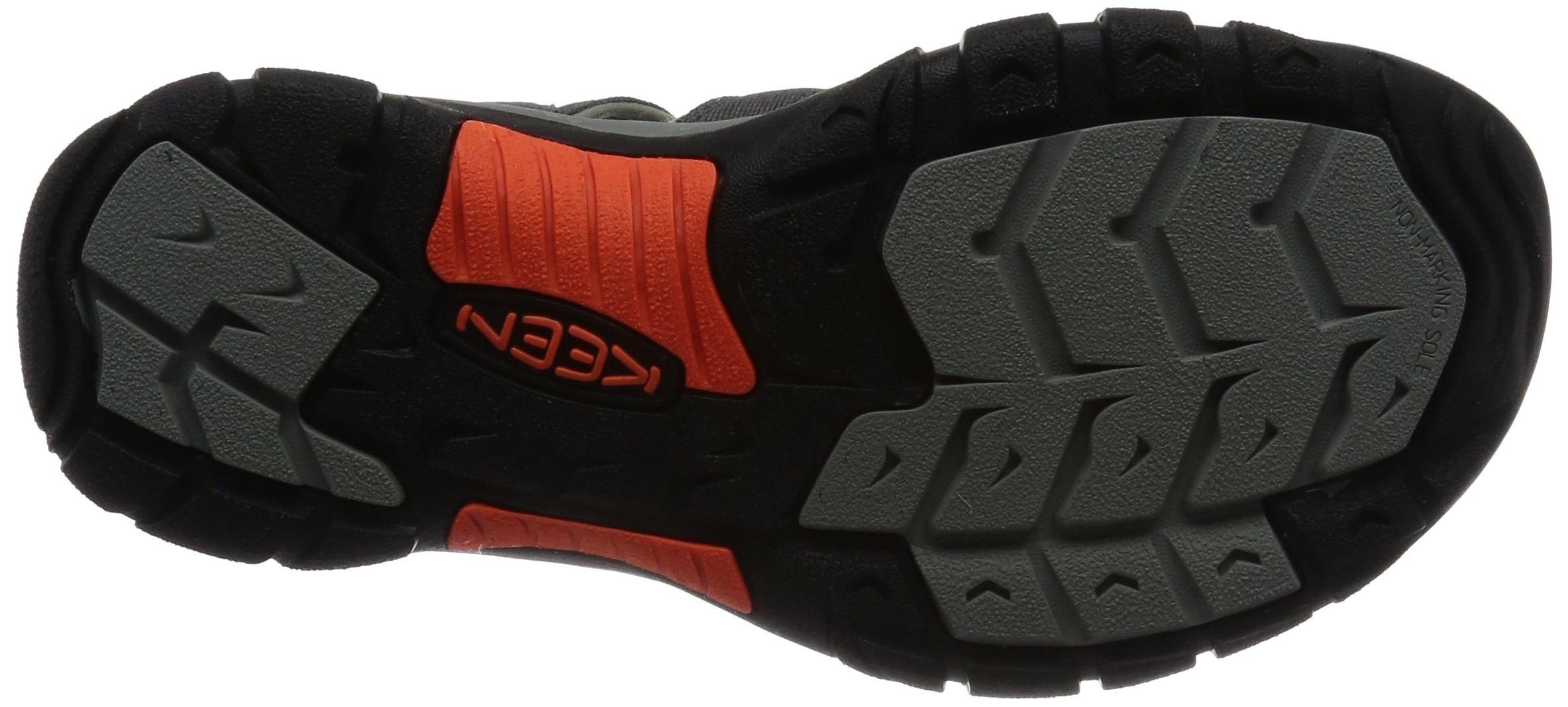 KEEN Men's Newport H2 Hiking Shoe, Magnet/Nasturtium, 15 M US by Keen (Image #3)