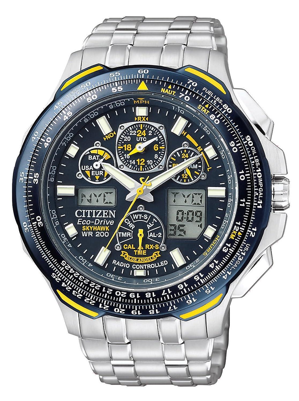 Citizen Men's Eco-Drive Blue Angels Skyhawk A-T Watch JY0040-59L:  Amazon.co.uk: Watches