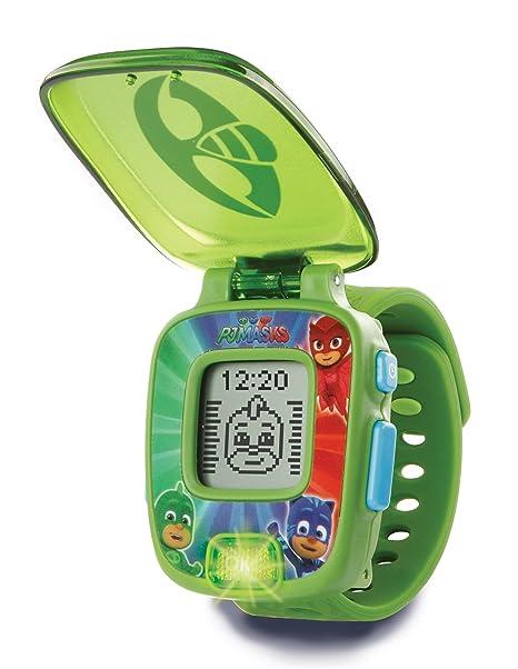 VTech PJ Masks Gekko, Reloj Digital Educativo Que estimula el Aprendizaje e incorpora minijuegos y