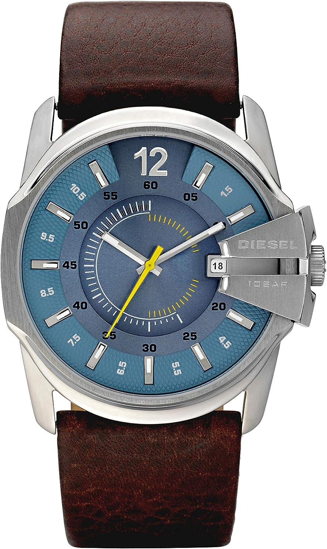 Diesel Reloj Analogico para Hombre de Cuarzo con Correa en Piel DZ1399