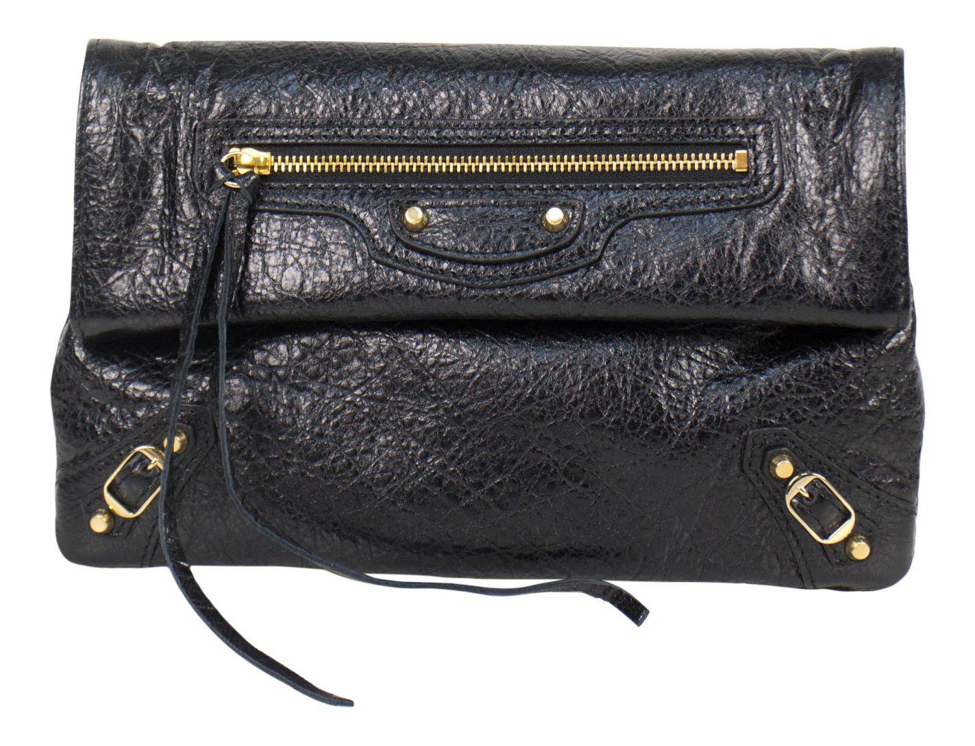 f43b3ce36 Amazon.com: Balenciaga Black Leather Classic Mini Envelope Cross-Body Bag:  Baby