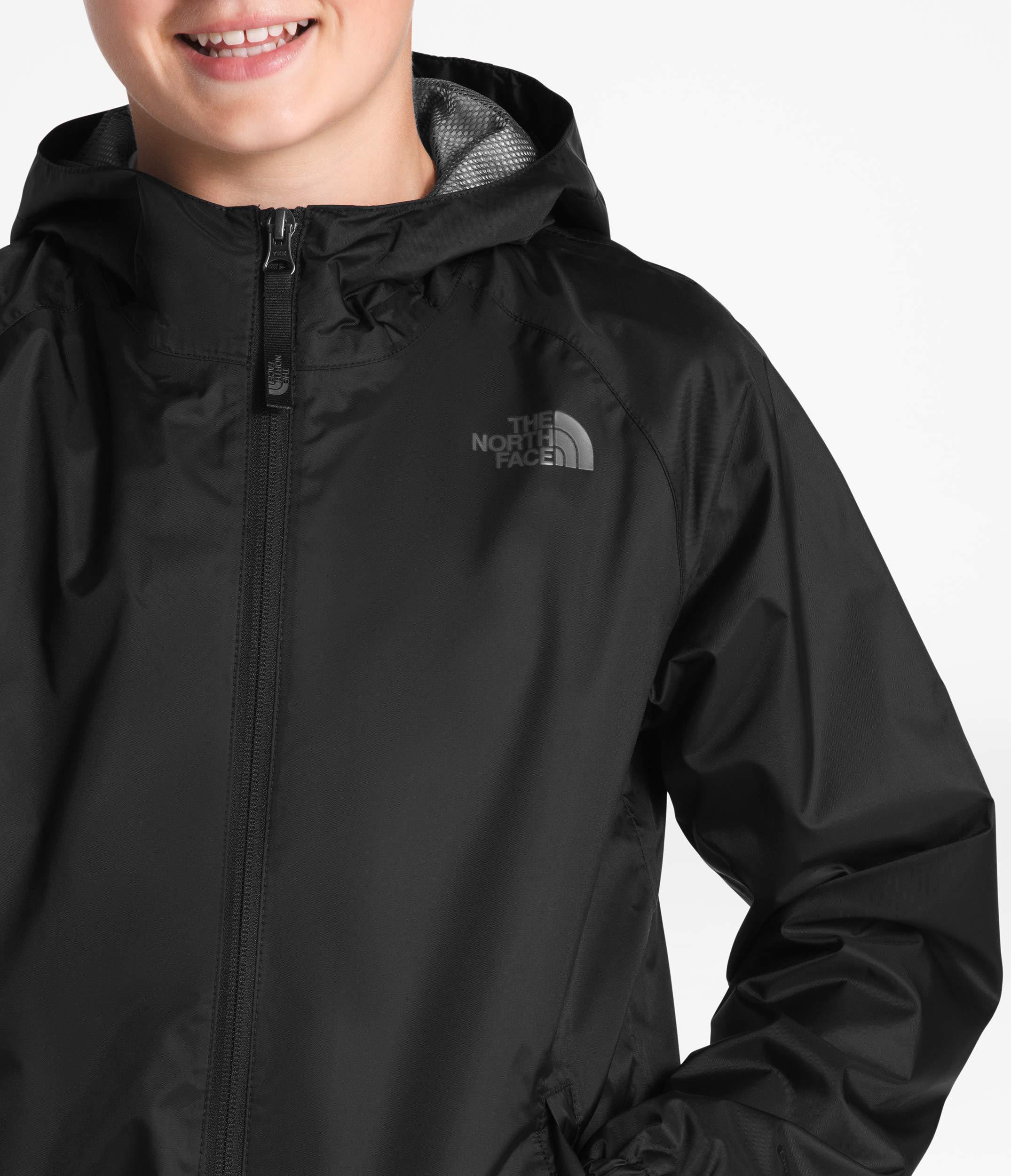 The North Face Kids Boy's Zipline Rain Jacket (Little Kids/Big Kids) TNF Black Large by The North Face (Image #3)