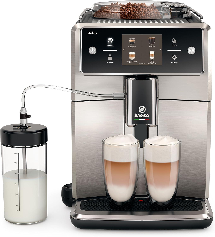 Saeco sm7683/00 Xelsis – Cafetera automática, innovadora pantalla ...
