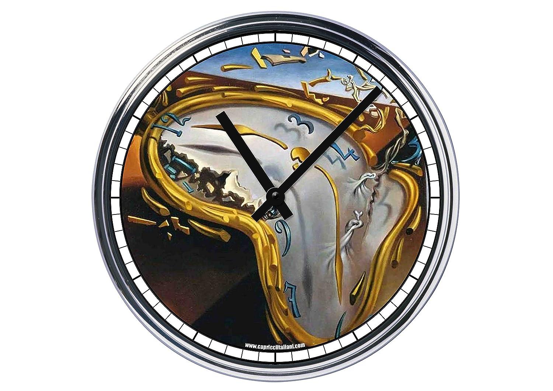 Reloj de Partete de acero Salvador Dali The melthing Watch: Amazon.es: Hogar