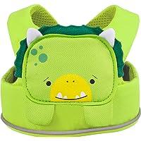 Trunki ToddlePak - Fuss Free Toddler Walking Reins & Kids Safety Harness – Dudley Dinosaur (Green)