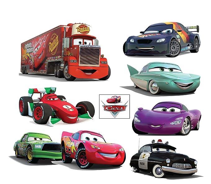Planche Stickers autocollantsx enfant Disney Cars 32x26cm