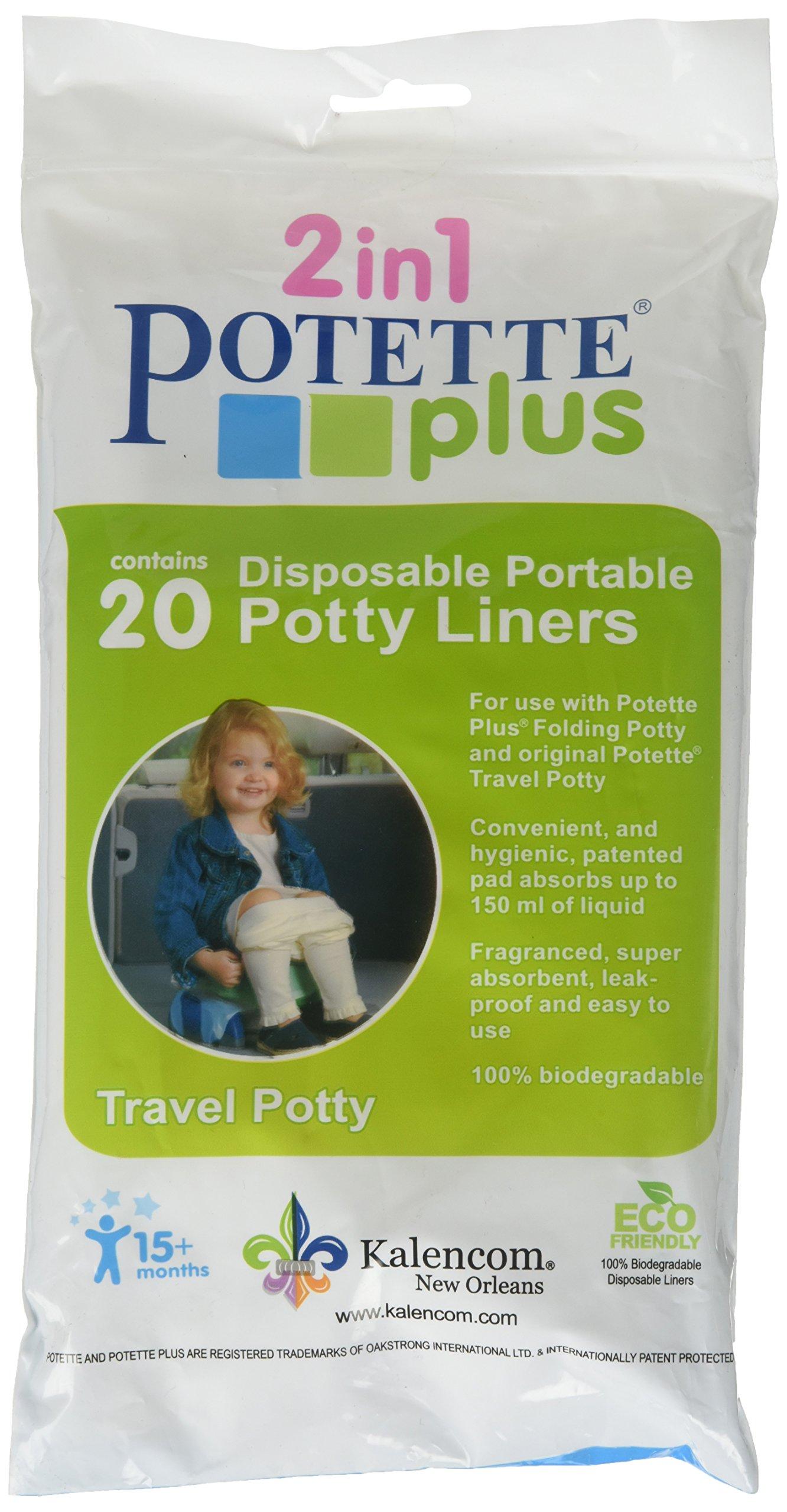 Kalencom Potette Plus Liners, 20 count