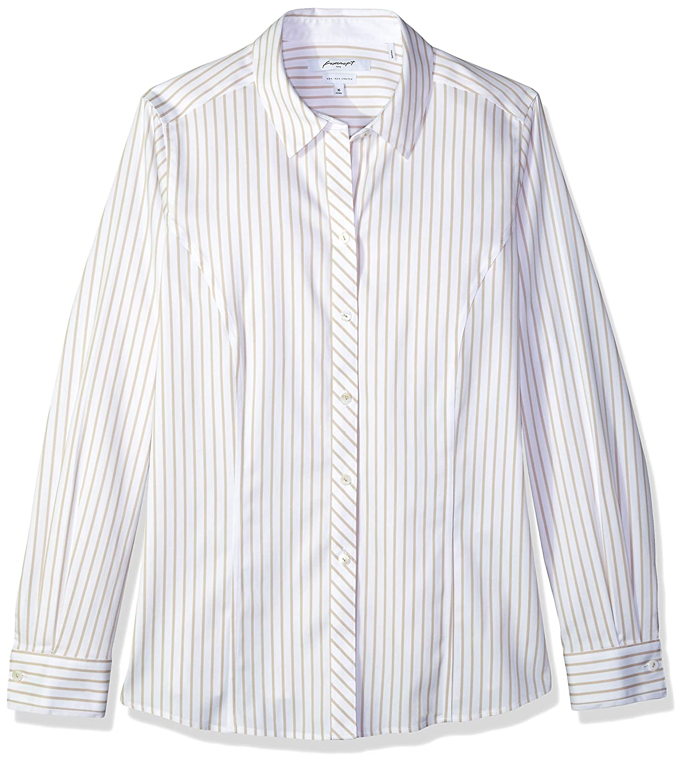 Foxcroft Womens Sadie Non Iron Stripe Shirt