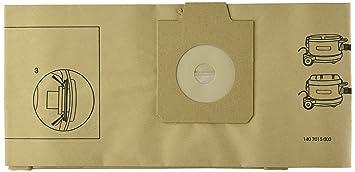 Nilfisk 1407015040 - Pack de 10 bolsas de papel para Gd930/Uz930