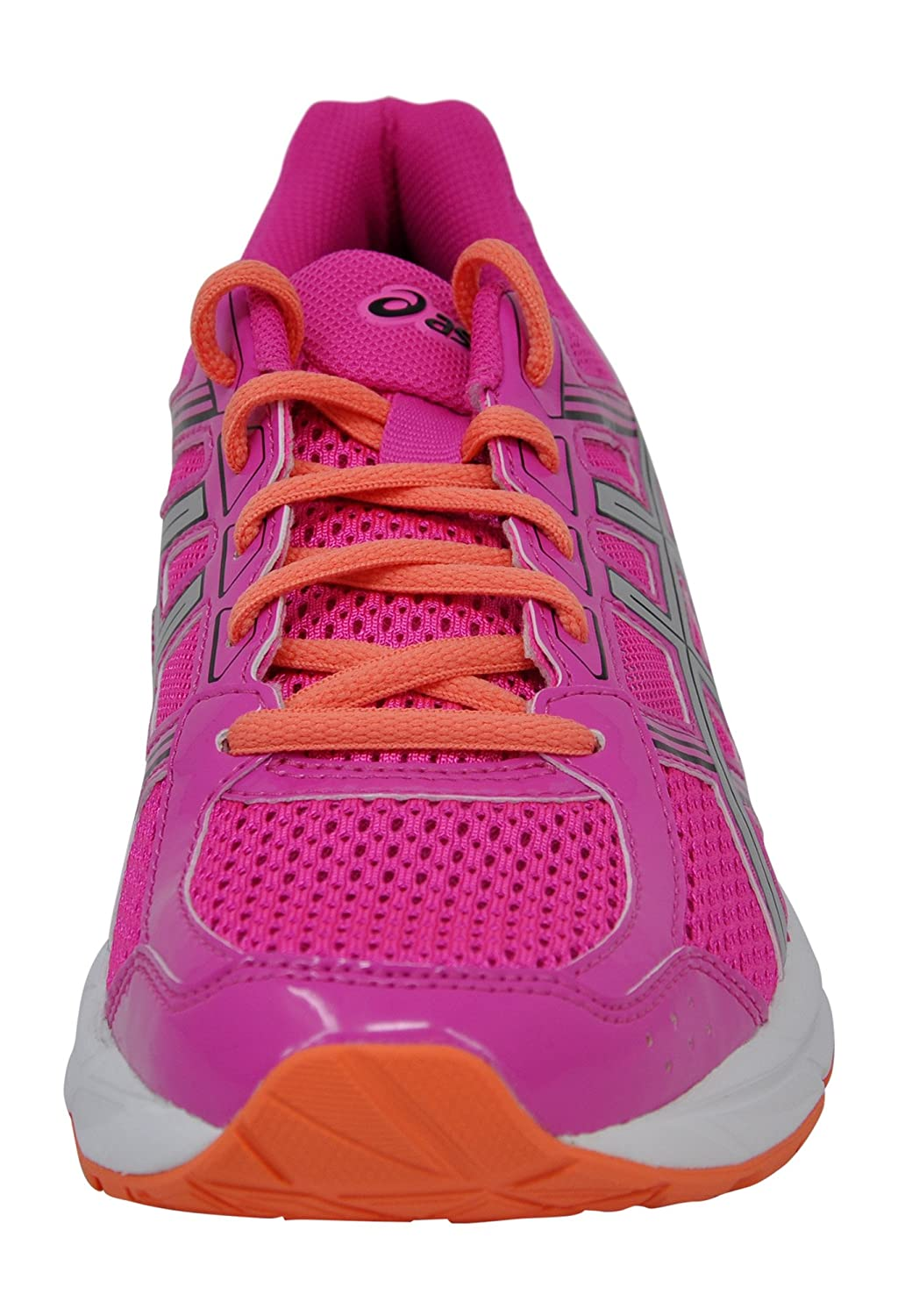 ASICS Women's Gel-Contend 4 Running Shoe B077XN68DF 6.5 B(M) US|Pink Glow/Silver/Black