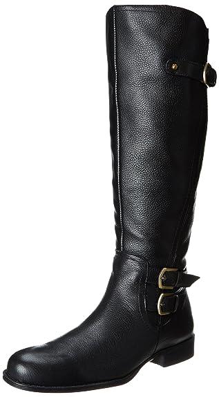 Naturalizer Women's Johanna Riding Boot,Black,4 ...