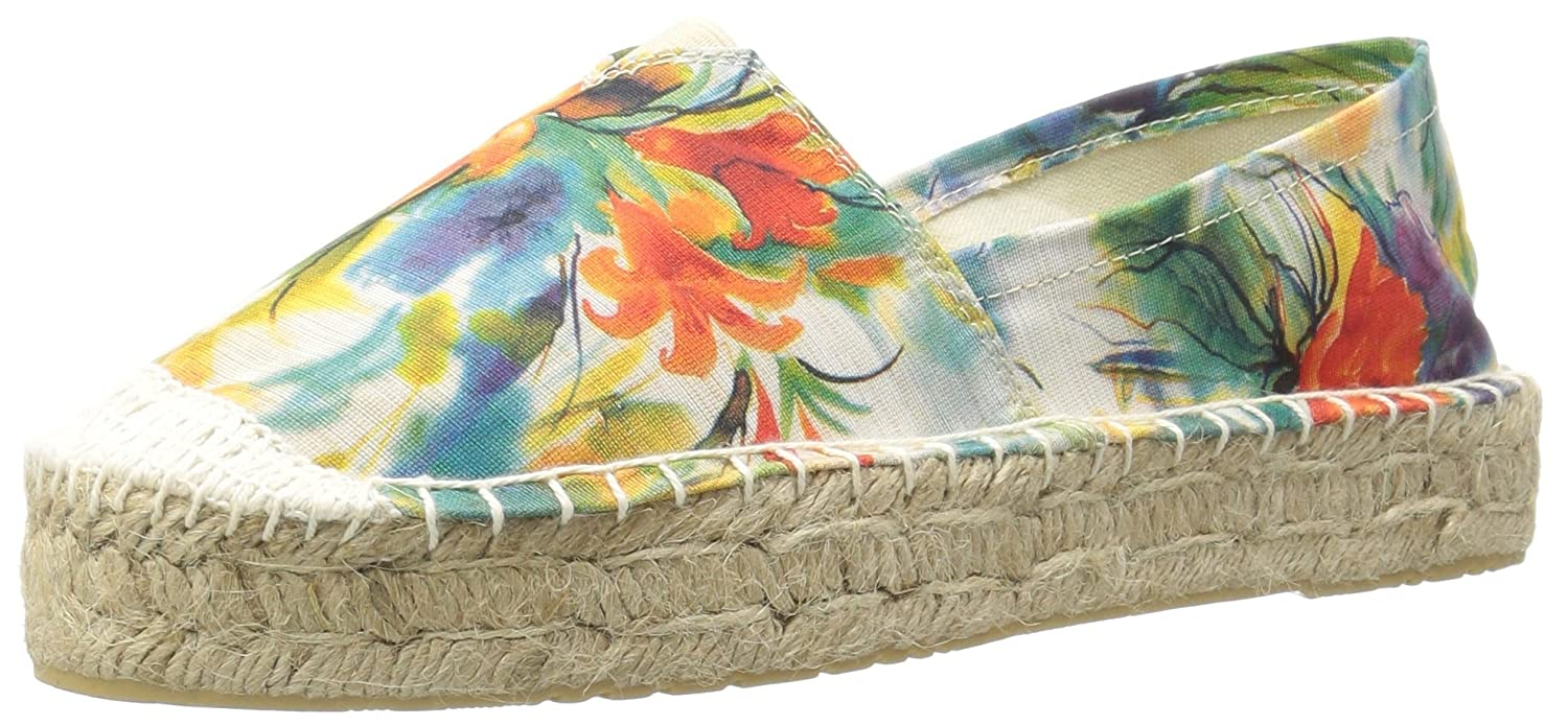 Dirty Laundry by Chinese Laundry Women's Elson Espadrille B01M0GI8J1 7.5 B(M) US|Blue Flower Fabric