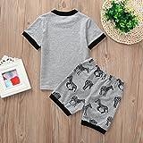 Boys&Girls Pajamas Sets Cotton Sleepwear Suit 2