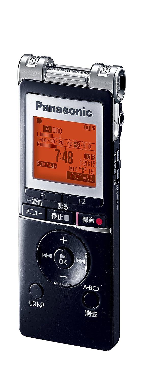 パナソニック ICレコーダー 4GB ブラック RR-XS455-K B00GFER4NQ ブラック ブラック