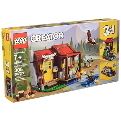 Lego Creator Outback Cabin 31098 Toy Building Kit (305 Pieces): Toys & Games