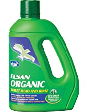 Elsan ORG02 Organic Toilet Fluid for Motorhomes, Green, 2 Litre
