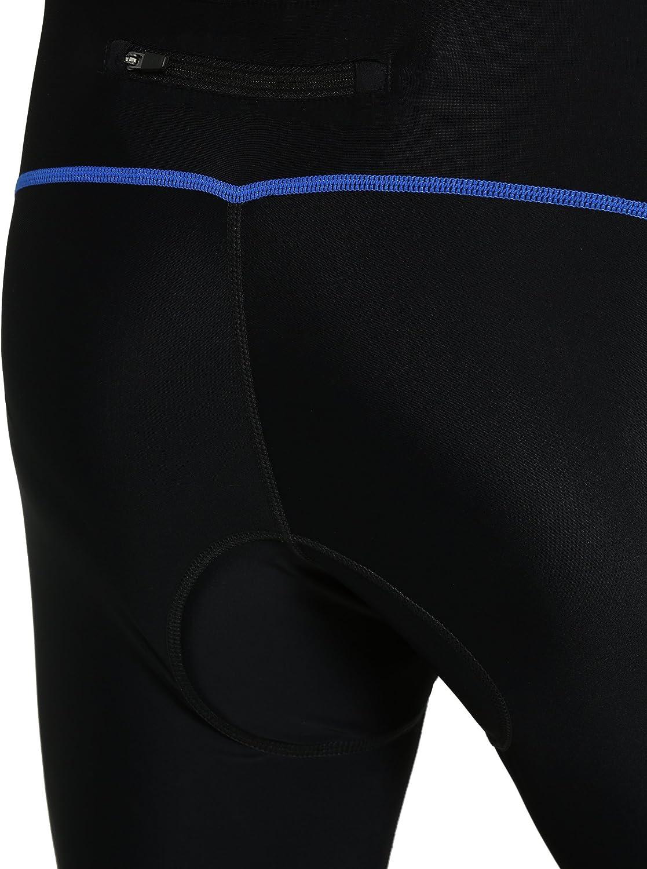 Ultrasport Mens Bike Shorts with Preformed Padding