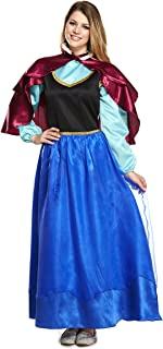 FANCY DRESS ADULT ICE PRINCESS  sc 1 st  Amazon UK & Rubieu0027s Official Ladies Frozen Anna Adult Costume - Small: Amazon ...