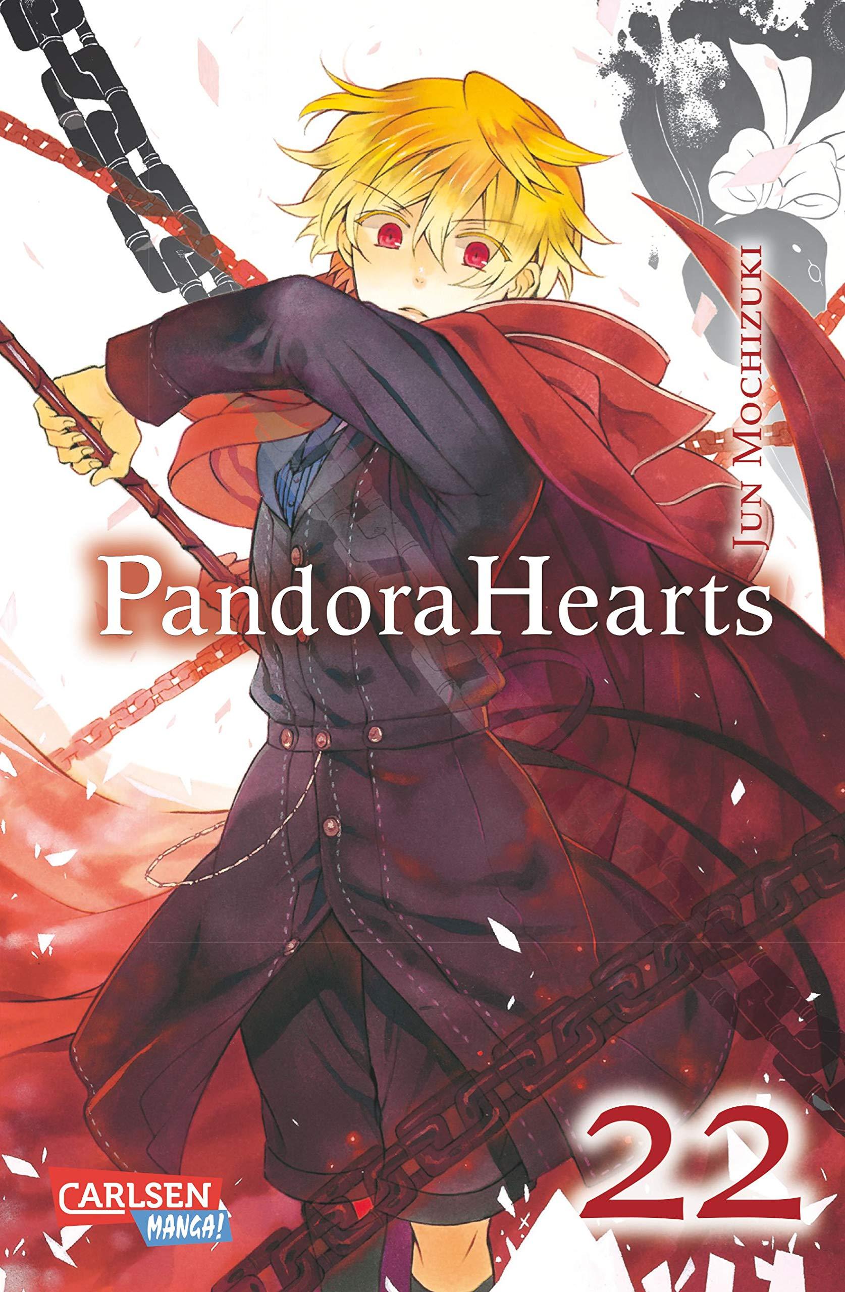 manga pandora hearts 4